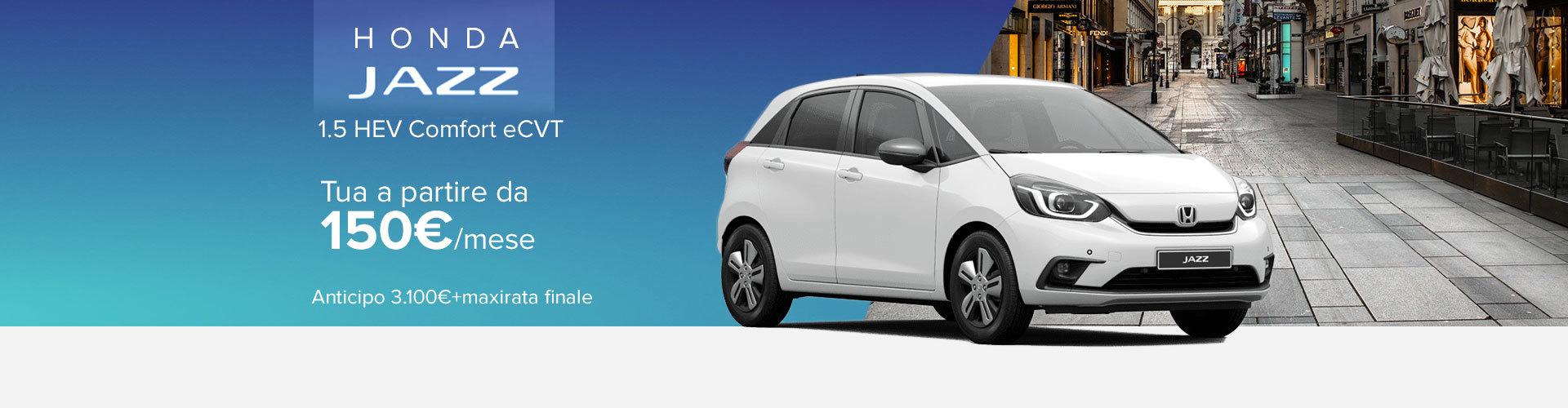 Honda Jazz autoshop promo