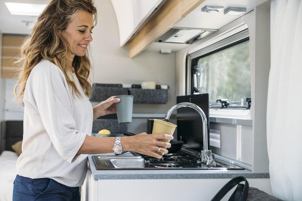 Adria Adora cucina - dettaglio lavandino