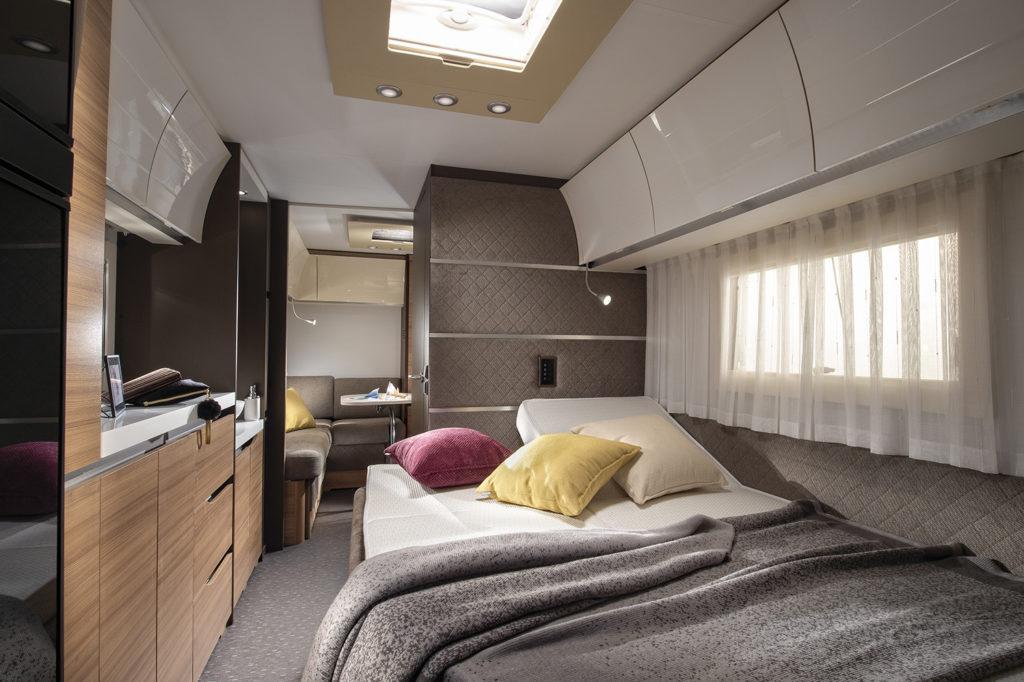 Adria Alpina camera da letto