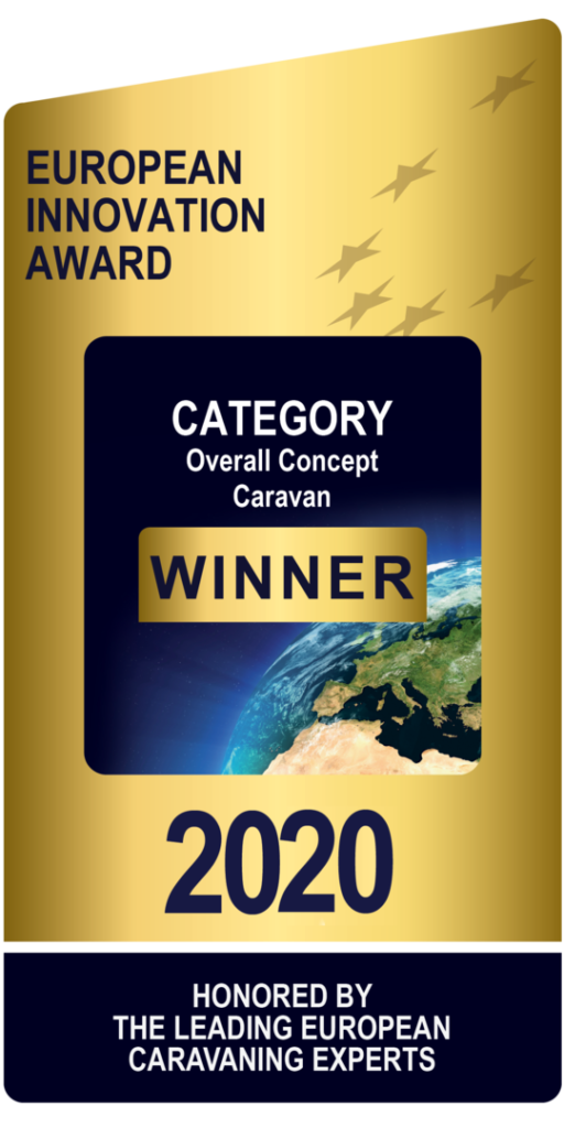 Adria European Innovation Award 2020 - Category Overall Concept Caravan