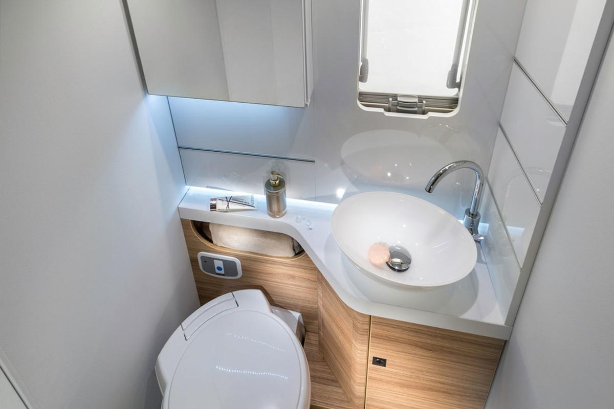 Adria Sonic Plus Bathroom