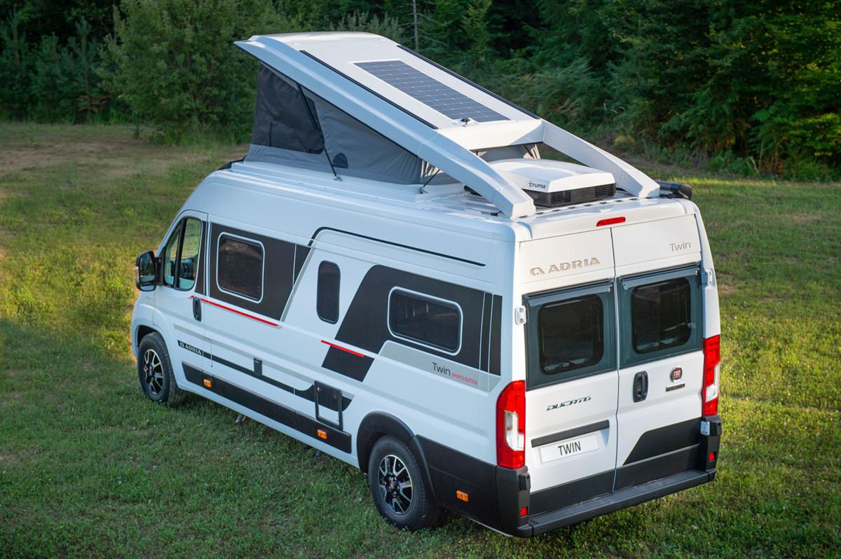 Adria Twin Sports pannelli solari