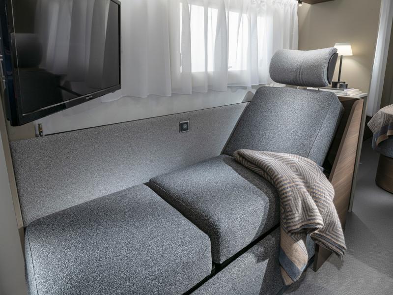 Adria Alpina 2022 lounge chaise