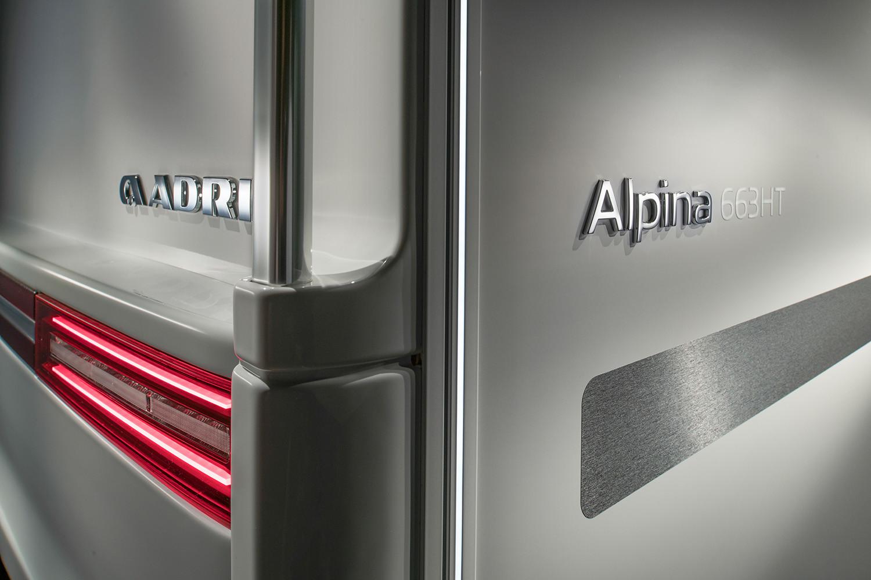 Adria Alpina 2022 luci LED