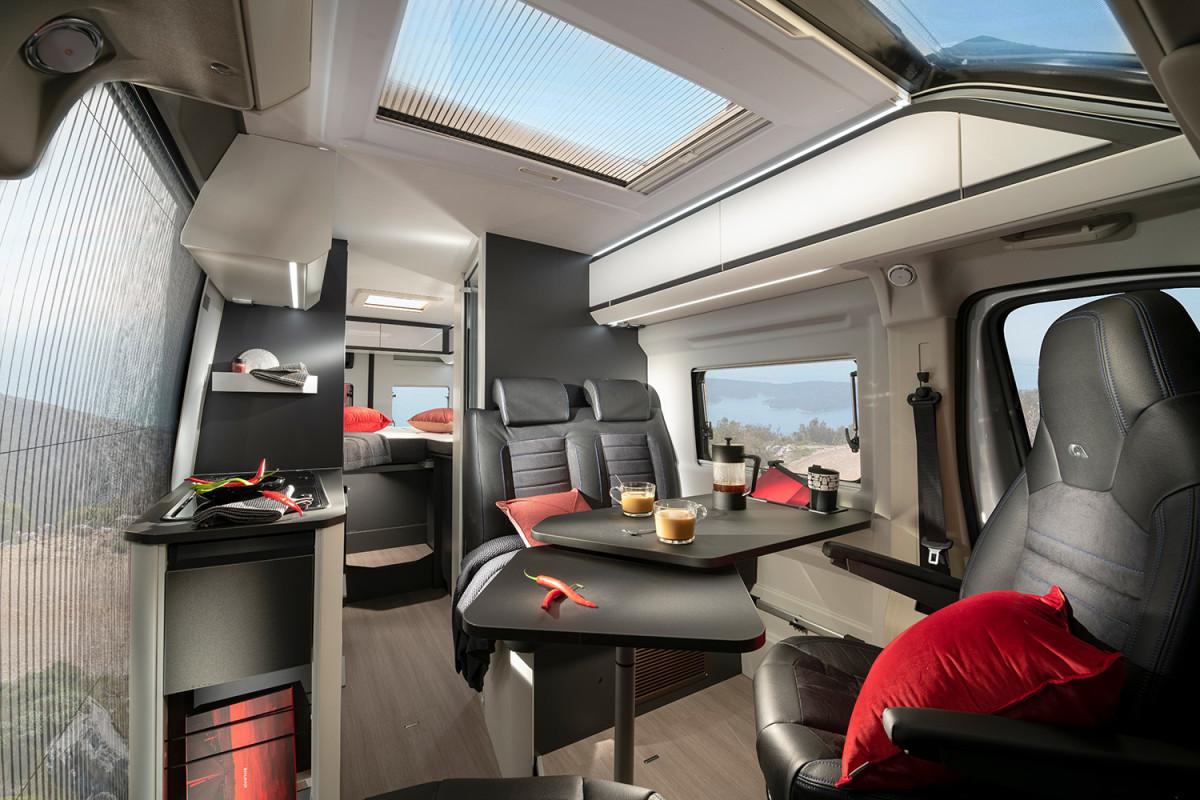 Adria TWIN SUPREME 2022 interior