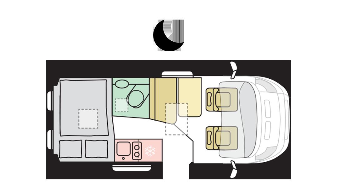 TWIN AXESS 540 SP - Night Layout