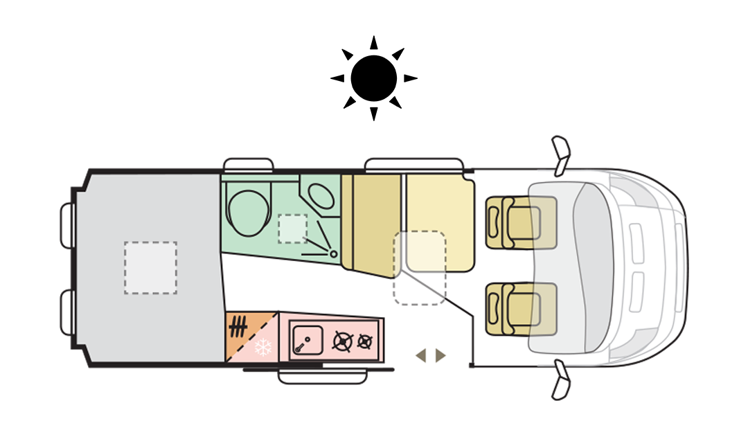 TWIN AXESS 600 SP FAMILY - Day Layout