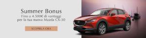 Mazda CX-30 incentivi